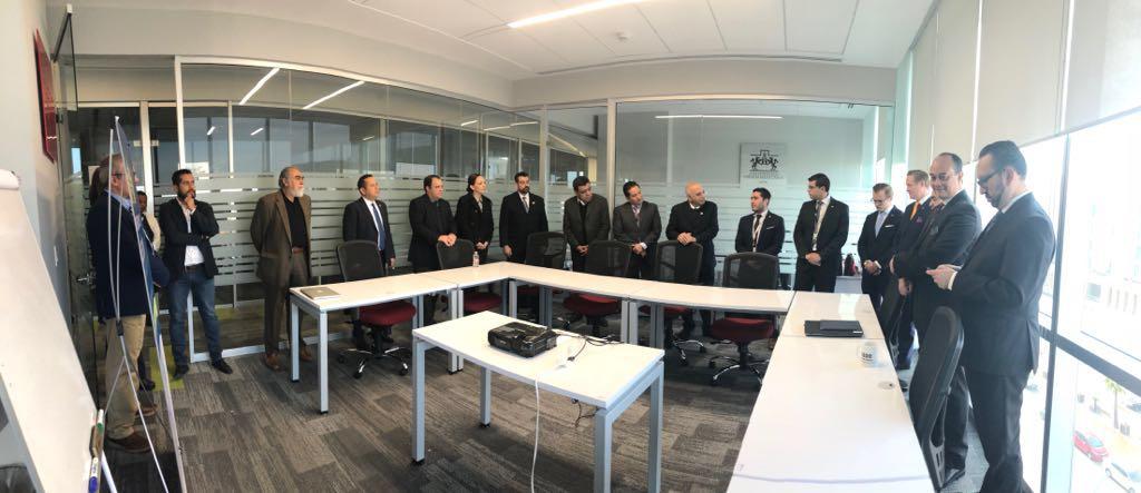 delegación embajada suecia, amio ingenieros, Plan Director León Municipio Humano Inteligente, 1