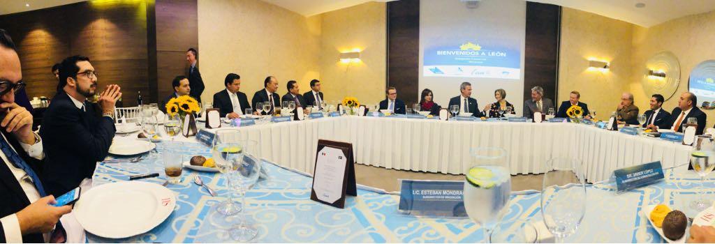 delegación embajada suecia, amio ingenieros, Plan Director León Municipio Humano Inteligente, 10