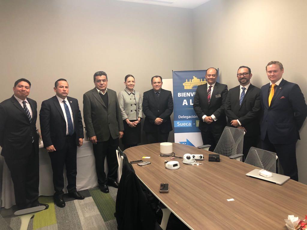 delegación embajada suecia, amio ingenieros, Plan Director León Municipio Humano Inteligente, 14
