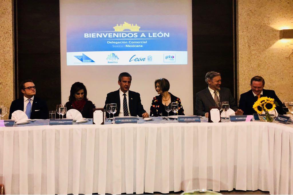 delegación embajada suecia, amio ingenieros, Plan Director León Municipio Humano Inteligente, 15