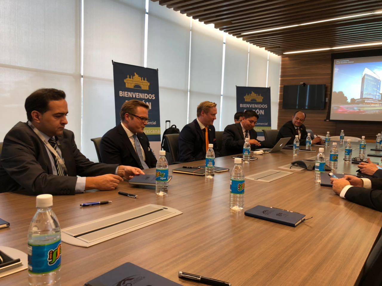delegación embajada suecia, amio ingenieros, Plan Director León Municipio Humano Inteligente, 2