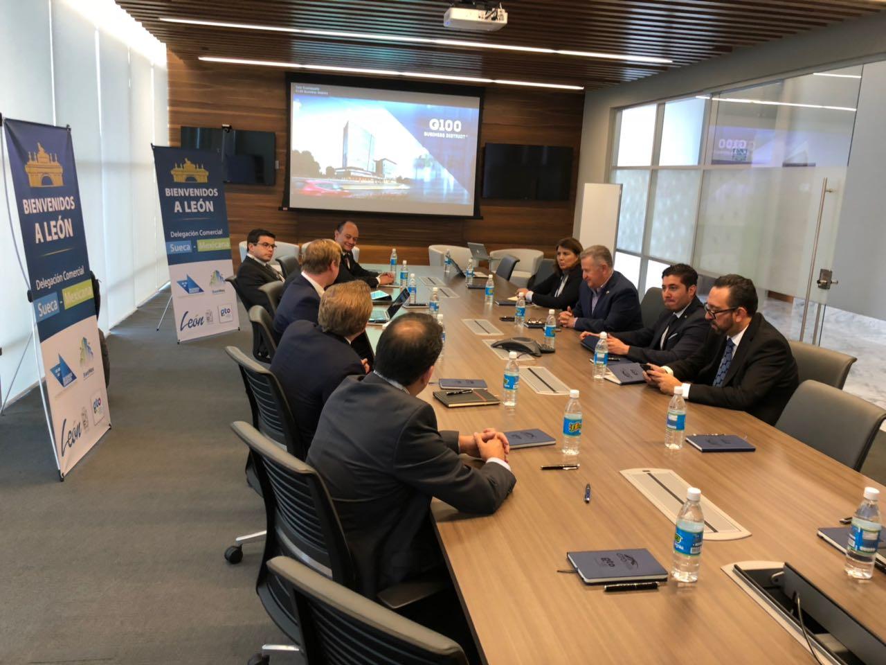 delegación embajada suecia, amio ingenieros, Plan Director León Municipio Humano Inteligente, 3