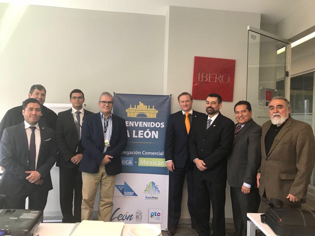 delegación embajada suecia, amio ingenieros, Plan Director León Municipio Humano Inteligente, 4