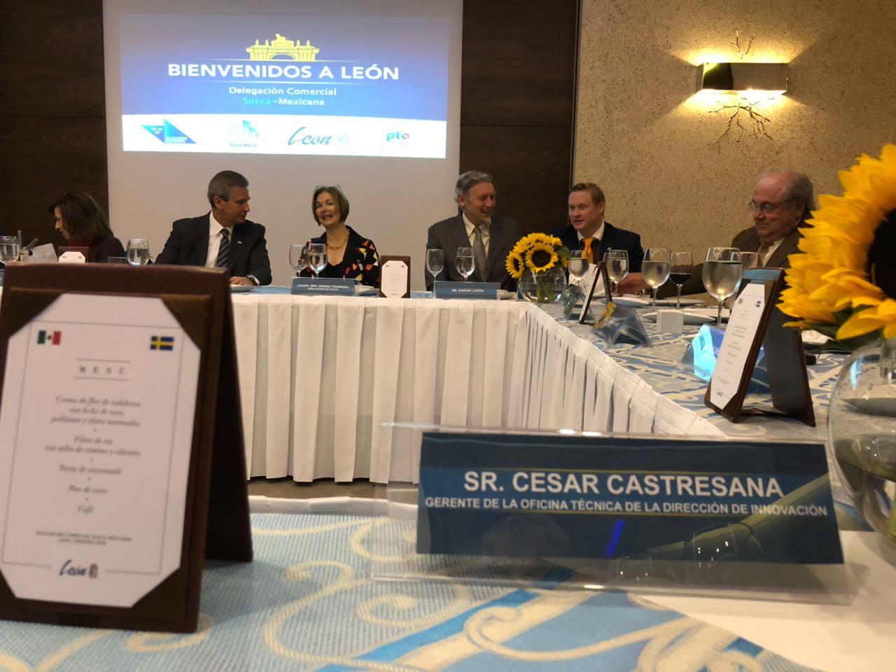 delegación embajada suecia, amio ingenieros, Plan Director León Municipio Humano Inteligente, 5