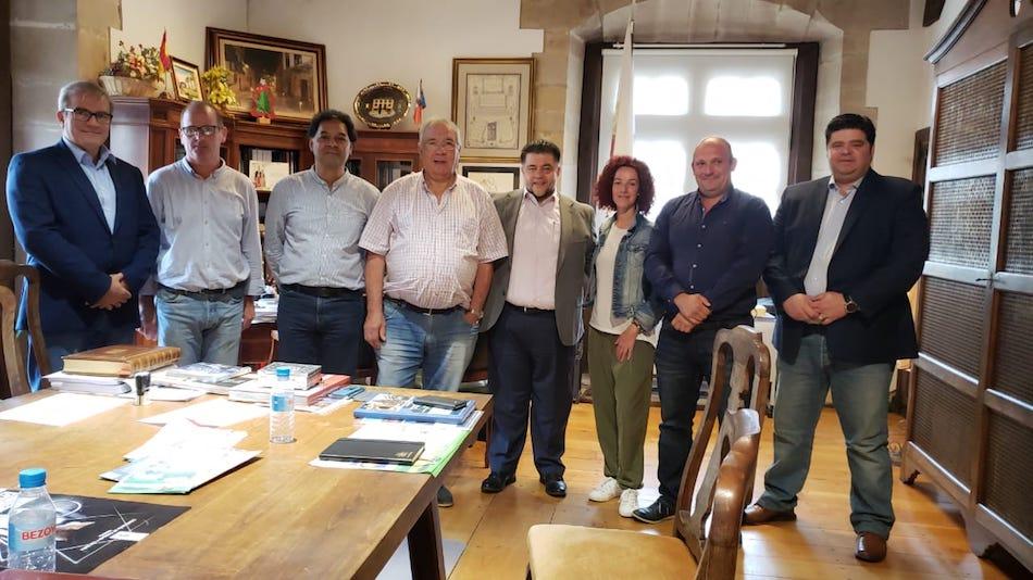 Visita Delegación San Miguel de Allende, México a Santillana del Mar, AMIO, Destino turistico Inteligente, gran plan 2040, sma, mexico